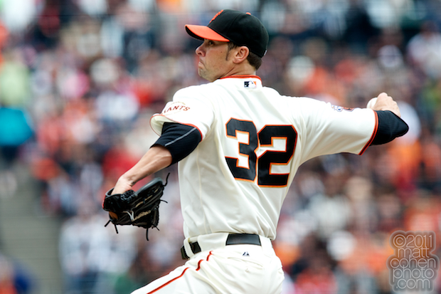 Ryan Vogelsong - Colorado Rockies at San Francisco Giants
