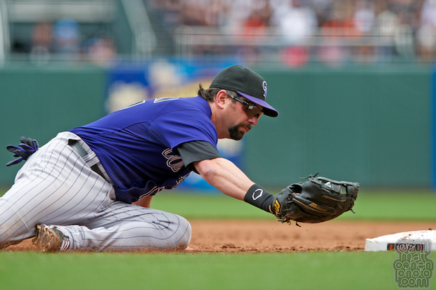 Todd Helton - Colorado Rockies at San Francisco Giants