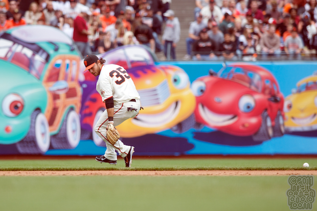 Brandon Crawford - Colorado Rockies at San Francisco Giants