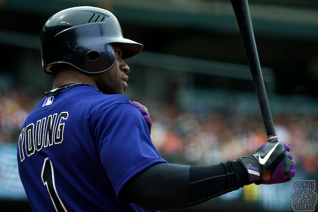 Eric Young Jr. - Colorado Rockies at San Francisco Giants