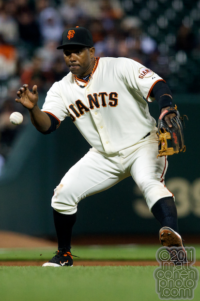 Miguel Tejada - Washington Nationals at San Francisco Giants 6-6-11