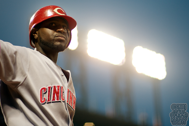 Brandon Phillips - Cincinnati Reds at San Francisco Giants 6-9-11