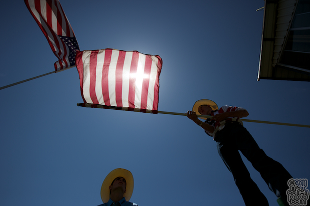 Flag Duty - 2011 Livermore Rodeo