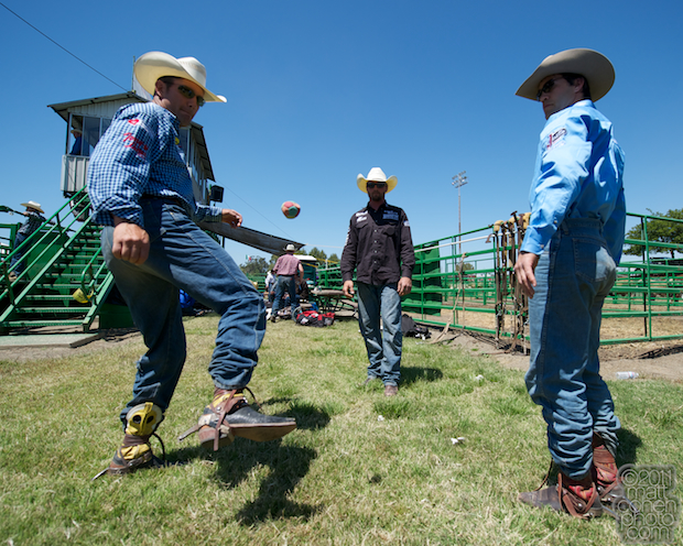 Bobby Mote, Steven Dent, and Jason Havens - 2011 Livermore Rodeo