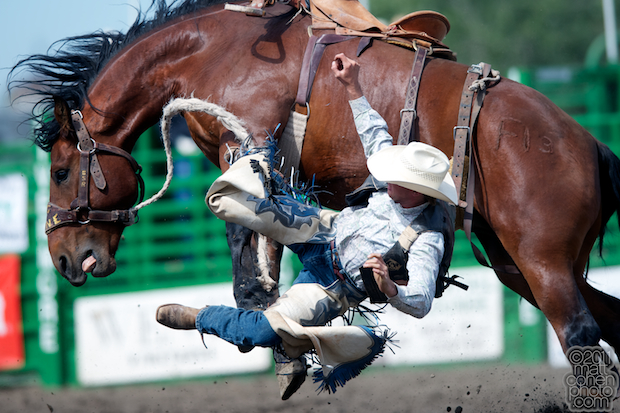 Nicholas Mitchell & Howdy - 2011 Livermore Rodeo