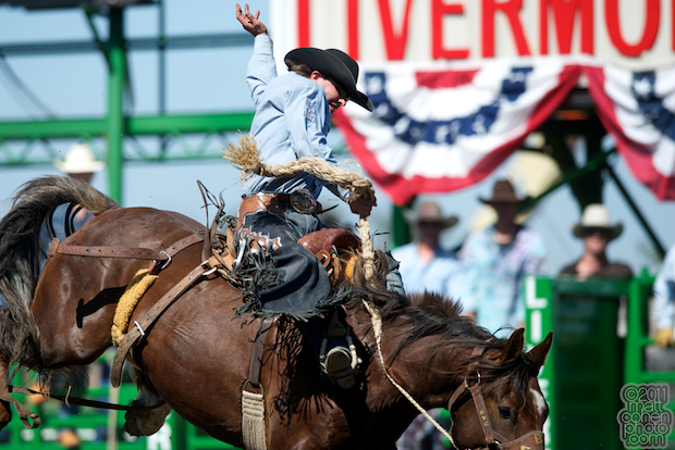 Wade Sundell & Wizard - 2011 Livermore Rodeo