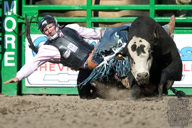 Chad Denton & Frampton - 2011 Livermore Rodeo