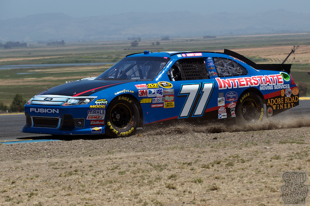 Andy Lally - 2011 Toyota Save Mart 350