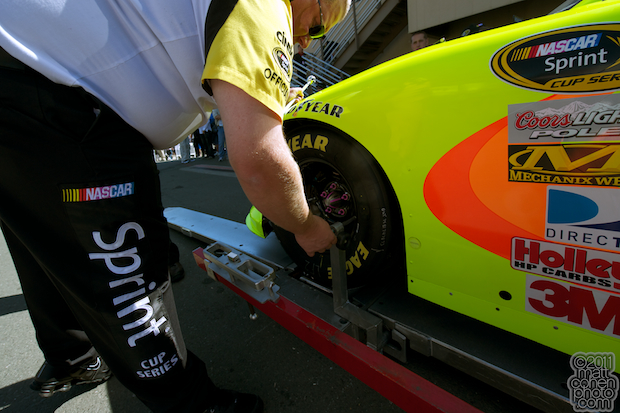 Tech Inspection - 2011 Toyota Save Mart 350