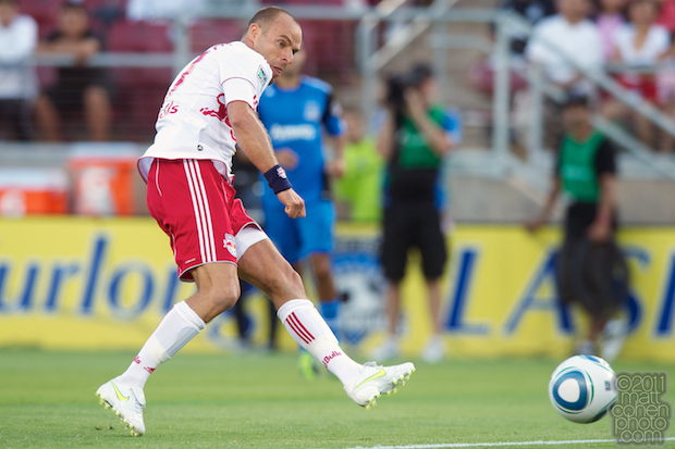 Joel Lindpere - Red Bulls at Earthquakes