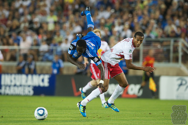 Simon Dawkins & Roy Miller - Red Bulls at Earthquakes