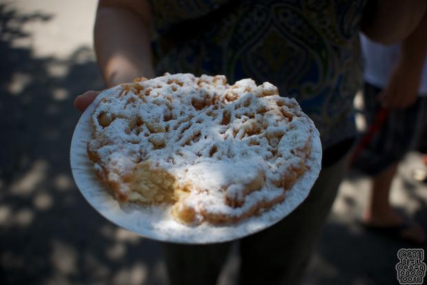 Funnel Cake - 2011 Alameda County Fair