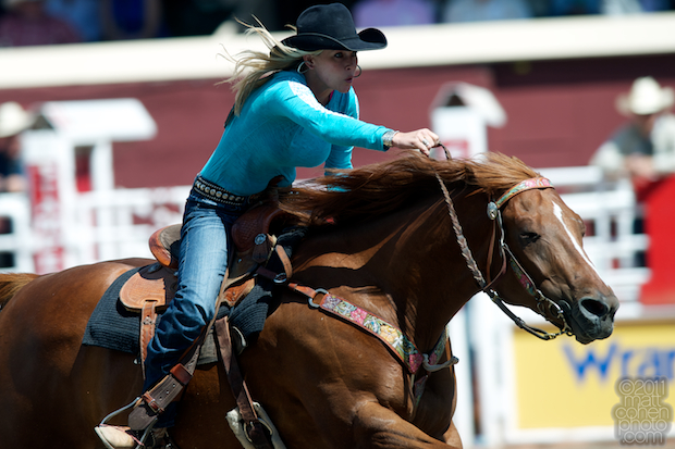 Angie Meadors - 2011 Calgary Stampede