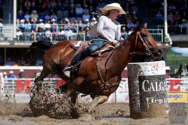 Lindsay Sears - 2011 Calgary Stampede