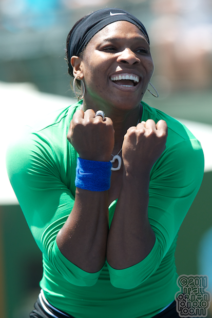 Serena Williams - 2011 Bank of the West Classic