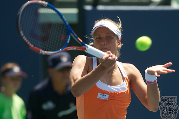 Barbora Zahlavova Strycova - 2011 Bank of the West Classic