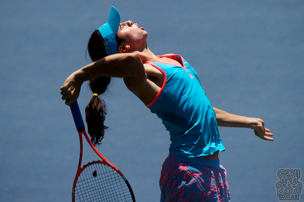 Christina McHale - 2011 Bank of the West Classic