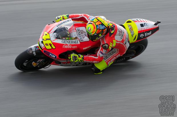 Valentino Rossi - 2011 Red Bull U.S. Grand Prix