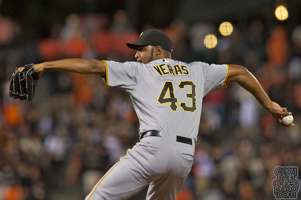Jose Veras - Pittsburgh Pirates