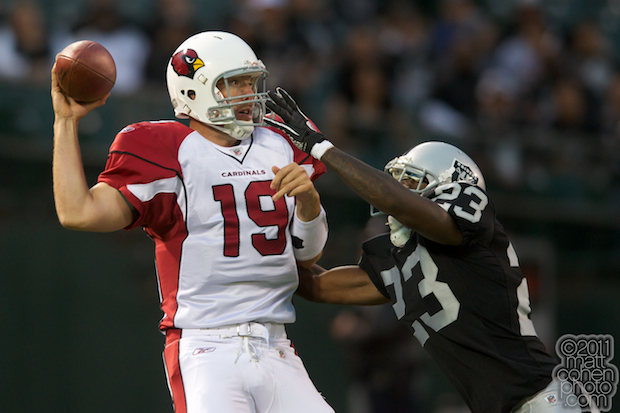 John Skelton & Jeremy Ware - Arizona Cardinals at Oakland Raiders