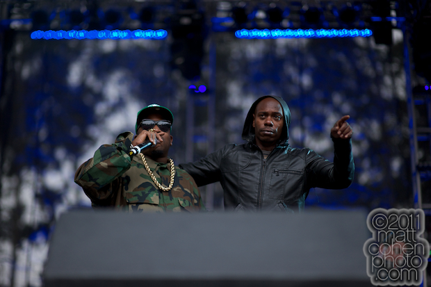 Big Boi & Dave Chappelle - Outside Lands 2011