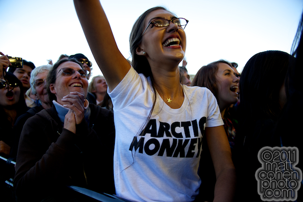 Arctic Monkeys Fan - Outside Lands 2011