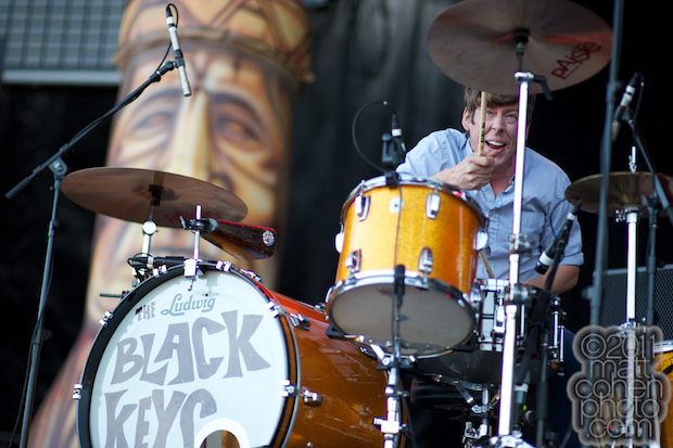 Patrick Carney of the Black Keys - Outside Lands 2011