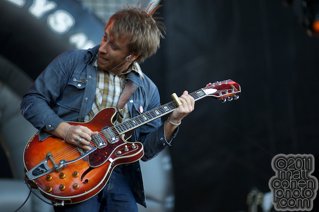 Dan Auerbach of the Black Keys - Outside Lands 2011