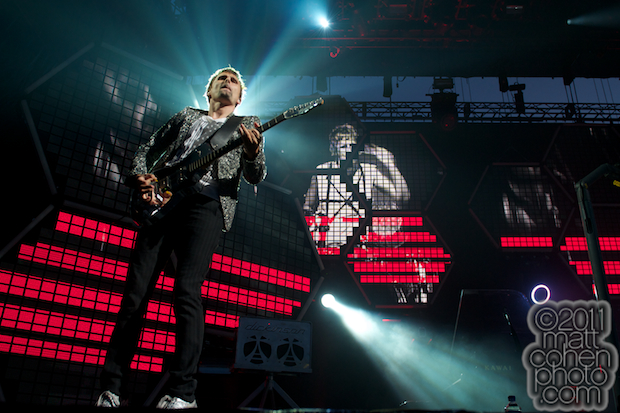 Matthew Bellamy of Muse - Outside Lands 2011