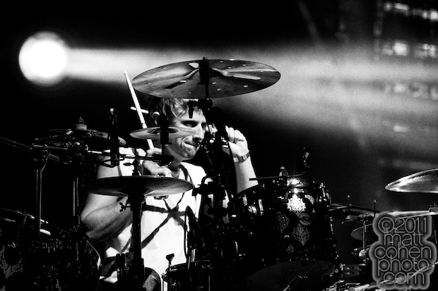 Dominic Howard of Muse - Outside Lands 2011