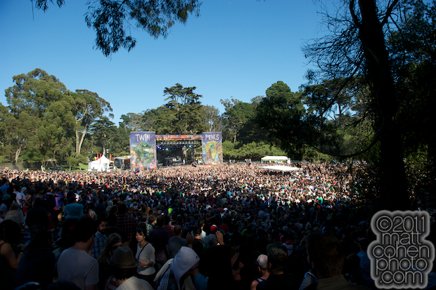 Twin Peaks Stage - Outside Lands 2011