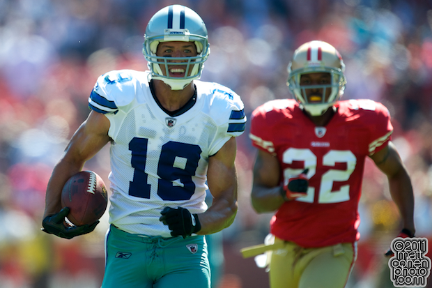 Miles Austin - Dallas Cowboys at San Francisco 49ers