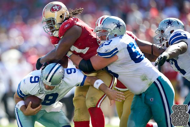 Ray McDonald & Tony Romo - Dallas Cowboys at San Francisco 49ers