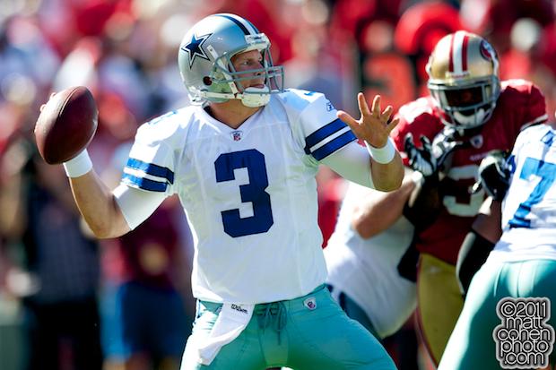 Jon Kitna - Dallas Cowboys at San Francisco 49ers
