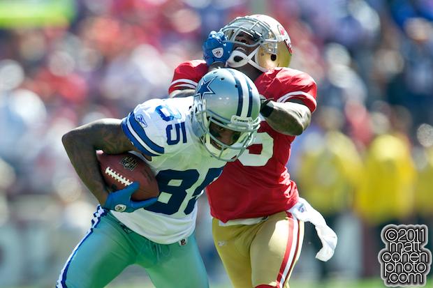 Kevin Ogletree & Tarell Brown - Dallas Cowboys at San Francisco 49ers