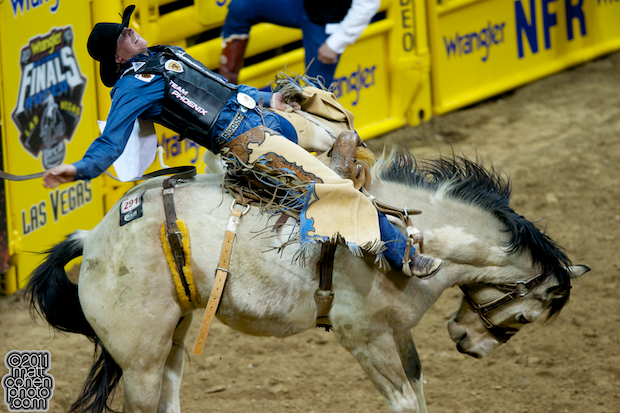 Taos Muncy - 2011 Wrangler National Finals Rodeo