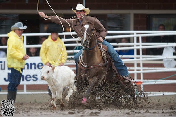 2011 Wrangler National Finals Rodeo Qualifiers Roping