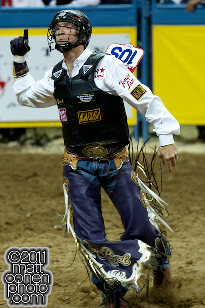 J.W. Harris - 2010 Wrangler National Finals Rodeo
