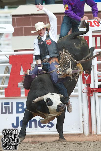 Wesley Silcox - 2011 Calgary Stampede