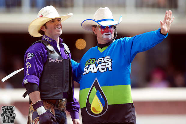 Wesley Silcox & Flint Rasmussen - 2011 Calgary Stampede