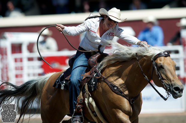 Brittany Pozzi - 2011 Calgary Stampede