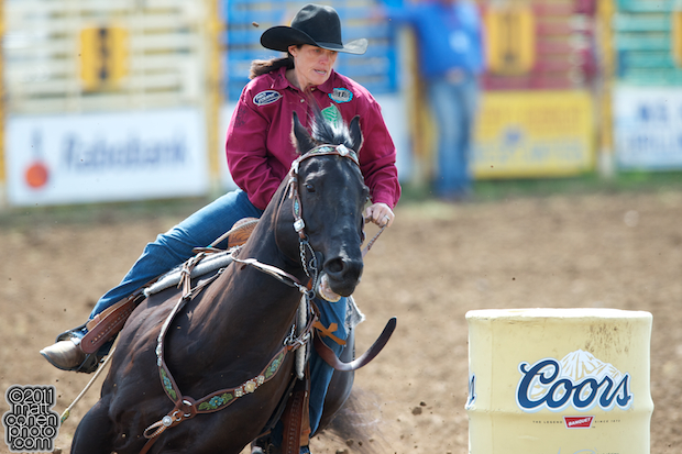 Brenda Mays - 2011 Red Bluff Round-Up