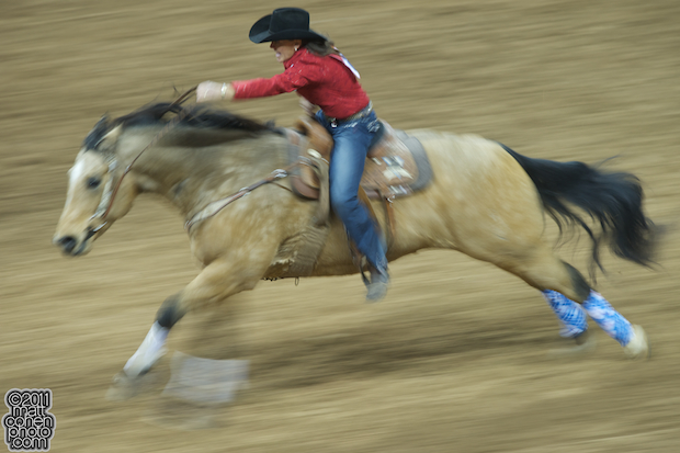 Lisa Lockhart - 2010 Wrangler National Finals Rodeo