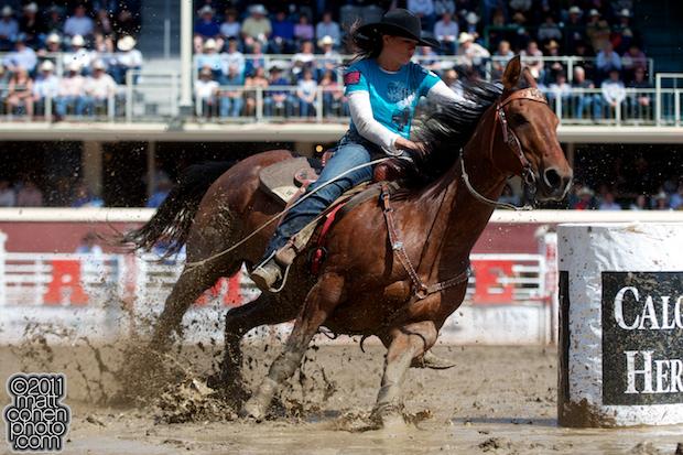 Britany Fleck - 2011 Calgary Stampede