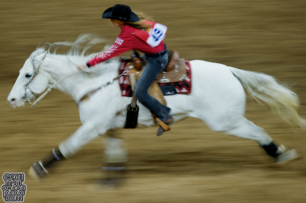 Jill Moody - 2010 Wrangler National Finals Rodeo