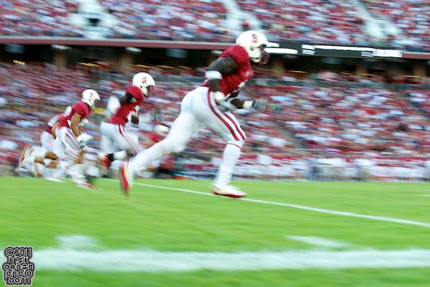Stanford kickoff