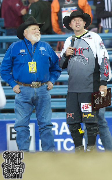 Mike Lucke and Joe Baumgartner - 2011 Reno Rodeo
