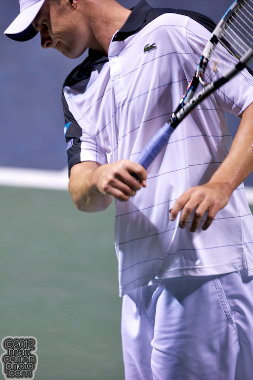 Andy Roddick - 2012 SAP Open