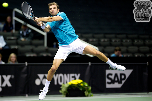 Julien Benneteau - 2012 SAP Open