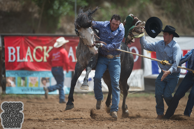 2012 Mother Lode Round-Up - Team Bronc Riding